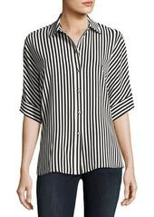 Vince Camuto Demure Striped Dolman Shirt