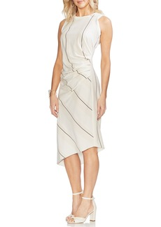 Vince Camuto Desertscape Stripe Asymmetrical Body-Con Dress