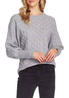 Vince Camuto Diamond Stitch Sweater