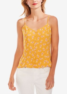 Vince Camuto Ditsy Floral Button-Front Camisole