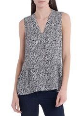 Vince Camuto Ditsy Floral Top