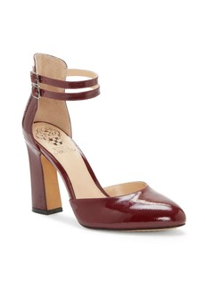 Vince Camuto Dorinda Patent Leather Block Heel Pump