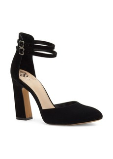 Vince Camuto Dorinda Patent Leather Block Heel Pump
