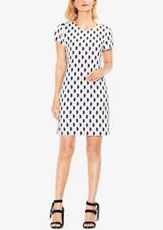Vince Camuto Dot-Print Shift Dress