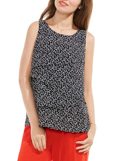Vince Camuto Dotted Harmony Tiered Blouse