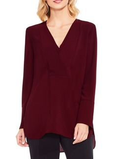 Vince Camuto Double V-Placket Tunic