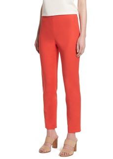 Vince Camuto Doubleweave Side Zip Skinny Pants