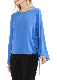 Vince Camuto Drawstring Side Blouse