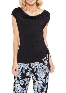 Vince Camuto Drawstring Side Top