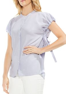 VINCE CAMUTO Drawstring-Sleeve Top