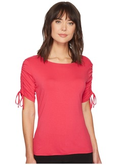 Drawstring Sleeve Top