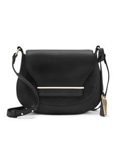 Vince Camuto Eda Leather Crossbody Saddle Bag