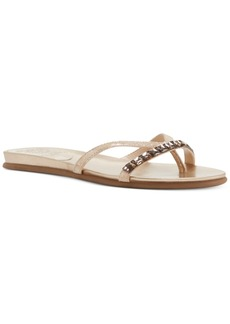 Vince Camuto Eddinal Embellished Flatform Sandals Women's Shoes