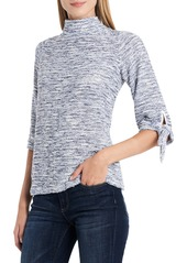 Vince Camuto Elbow Sleeve French Terry Top