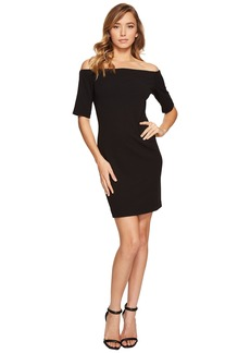 Vince Camuto Elbow Sleeve Off Shoulder Dress