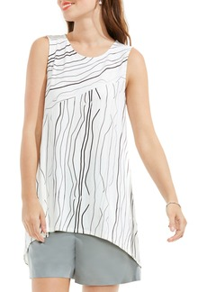Vince Camuto Electric Lines High/Low Top