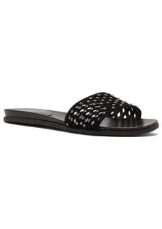 Vince Camuto Emanda Leather Slide Sandals