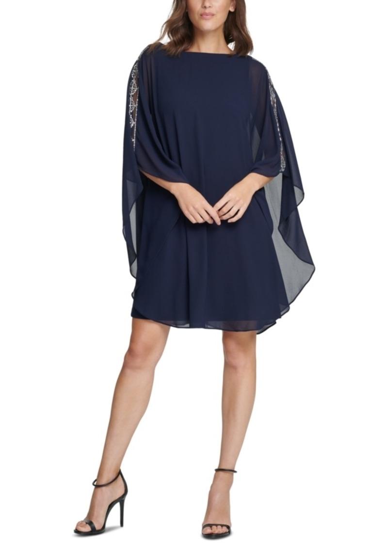 Vince Camuto Embellished A-Line Dress