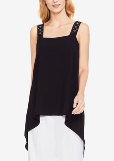 Vince Camuto Embellished High-Low Tunic