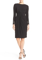 Vince Camuto Embellished Stretch Sheath Dress