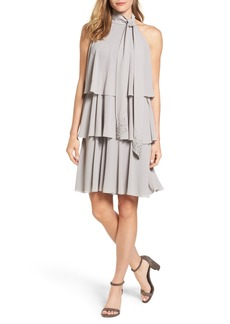 Vince Camuto Embellished Swing Dress