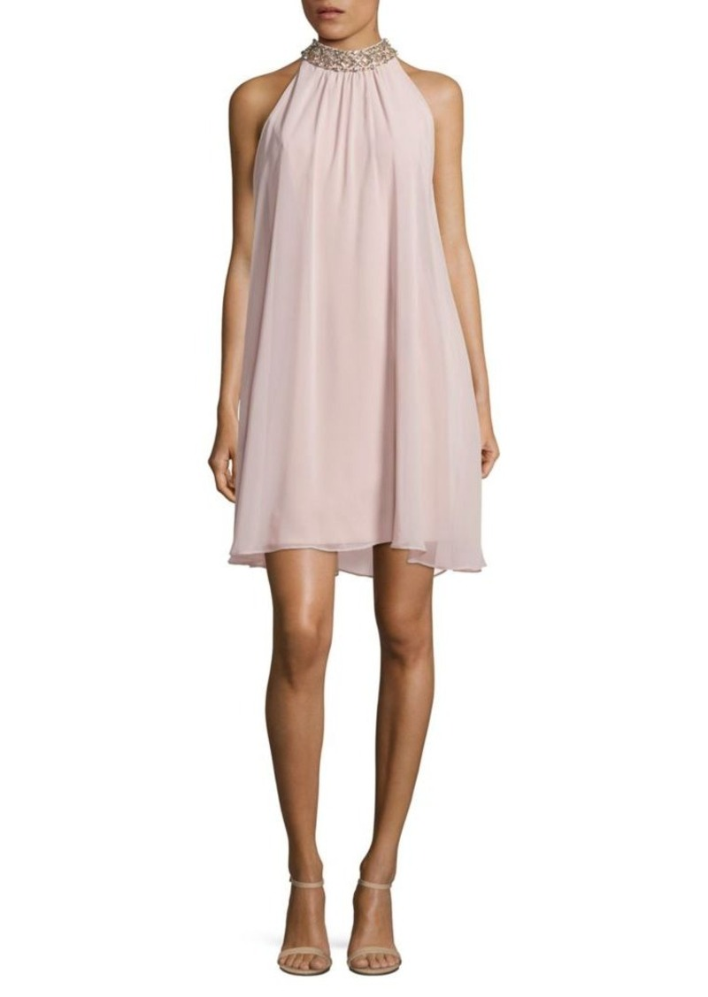 68599721b3a75 Vince Camuto Vince Camuto Embellished Trapeze Dress Now  56.39