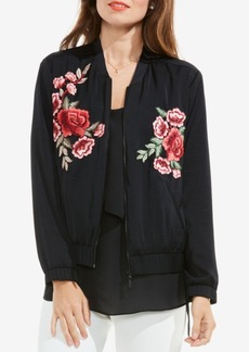 Vince Camuto Embroidered Bomber Jacket