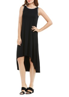 Vince Camuto Embroidered High/Low Dress (Regular & Petite)