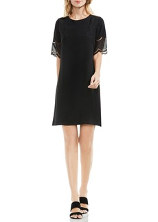 Vince Camuto Embroidered Shift Dress