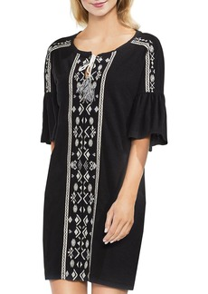 VINCE CAMUTO Embroidered Tunic Dress