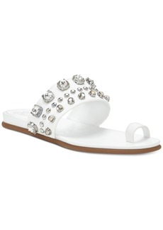 Vince Camuto Emmerly Jewel Studded Flat Sandals Women's Shoes