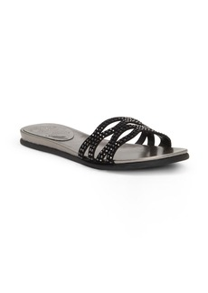 Vince Camuto Empiana Crystal Embellished Slide Sandal (Women)
