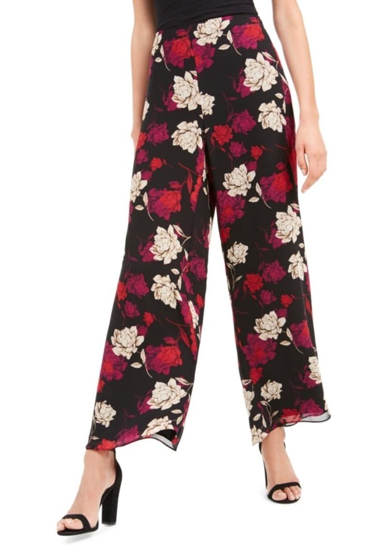 Vince Camuto Enchanted Floral Wide-Leg Pants