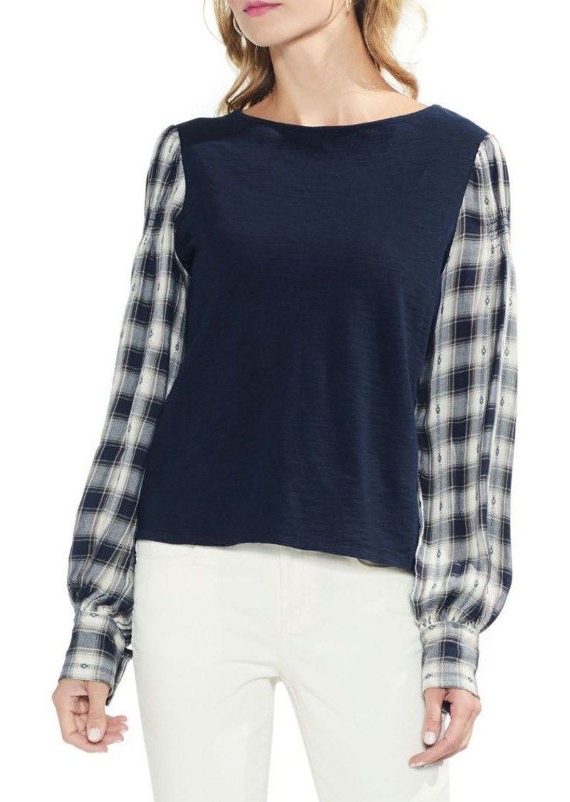 447a069702420 Vince Camuto Vince Camuto Estate Jewels Long-Sleeve Cotton Top Now ...