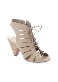 Vince Camuto Estie Stacked-Heel Lace-Up Sandals