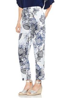 Vince Camuto Etched Island Floral Slim Pants