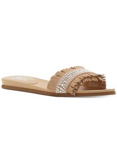 Vince Camuto Ettina Embellished Fringe Sandals Women's Shoes