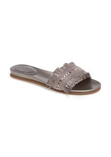 Vince Camuto Ettina Fringed Slide Sandal (Women)