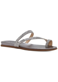 Vince Camuto Evina Jeweled Flat Sandals Women's Shoes