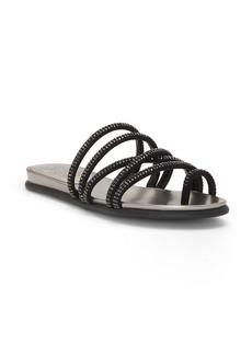 Vince Camuto Ezzina Crystal Embellished Slide Sandal (Women)