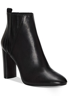 Vince Camuto Fateen Cylinder-Heel Booties Women's Shoes