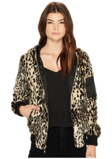 Vince Camuto Faux Fur Bomber N8561