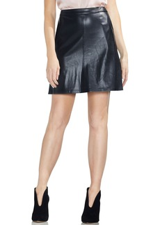 Vince Camuto Faux Leather Miniskirt