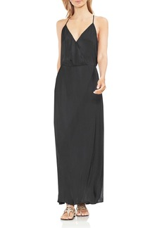 VINCE CAMUTO Faux-Wrap Maxi Dress