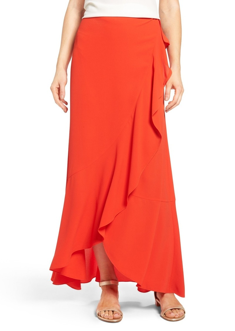 df44f6260 Vince Camuto Vince Camuto Faux Wrap Ruffled Maxi Skirt Now $53.40