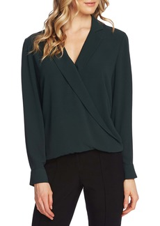 Vince Camuto Faux Wrap Top