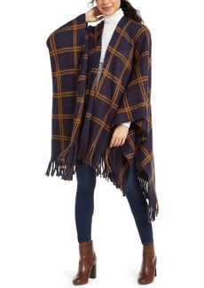 Vince Camuto Feels Like Home Grid-Print Topper