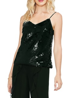 Vince Camuto Fish Scale Sequin Camisole