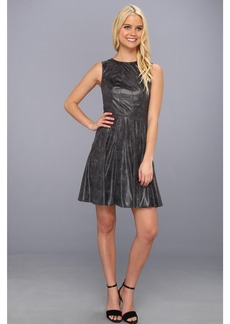 Vince Camuto Fit & Flare Dress w/ Radial Seaming