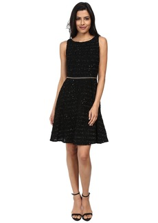 Vince Camuto Fit and Flare Boucle Dress